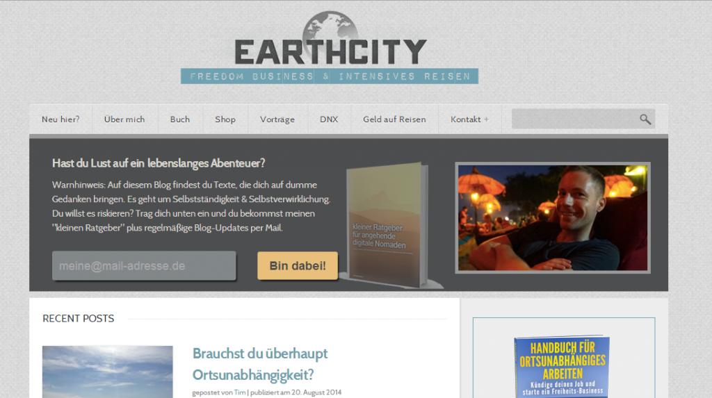 Earthcity von Tim Chimoy