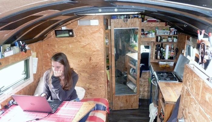 leben und arbeiten im wohnmobil digitale nomaden auf r dern. Black Bedroom Furniture Sets. Home Design Ideas