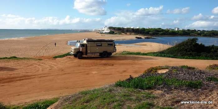 Winter in der Algarve – Arbeiten im Wohnmobil