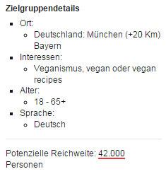 Veganer Facebook