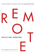 Reading List: Remote - Jason Fried (Cover)