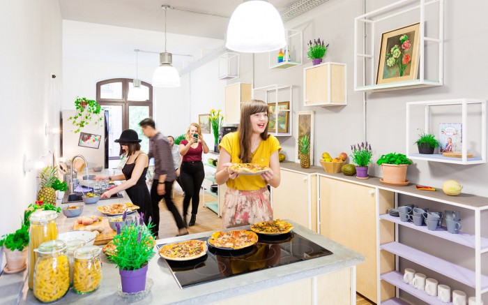 Die Blogfabrik Berlin - Küche