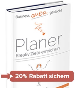Quer gedacht Business Planer