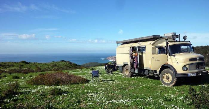 Steffi und Olaf leben und arbeiten im Wohnmobil