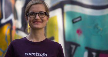 eventsofa - Gründerin Stefanie Jarantowski